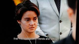 Augustus Waters funeral scene - The Fault in Our Stars