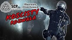 KOŚCISTY ROZWALA!!! SCP Secret Disclosed #14 /w: EKIPA