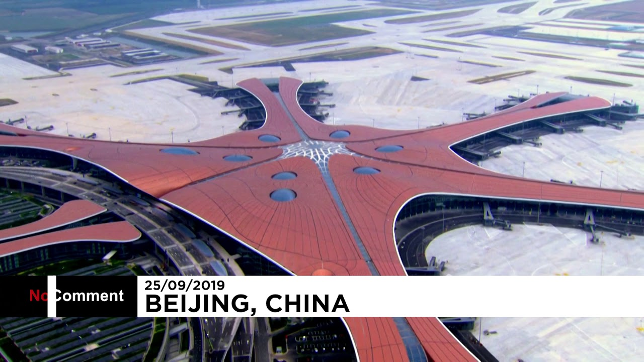 Download Beijing's new mega airport to open for operation on Wednesday