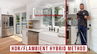 HDR/Flambient Hybrid Method for Real Estate Photography