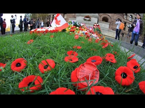 Remembrance Day Canada 2014