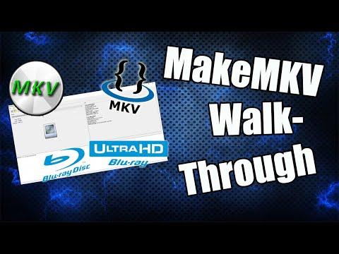 MakeMKV Walk-through