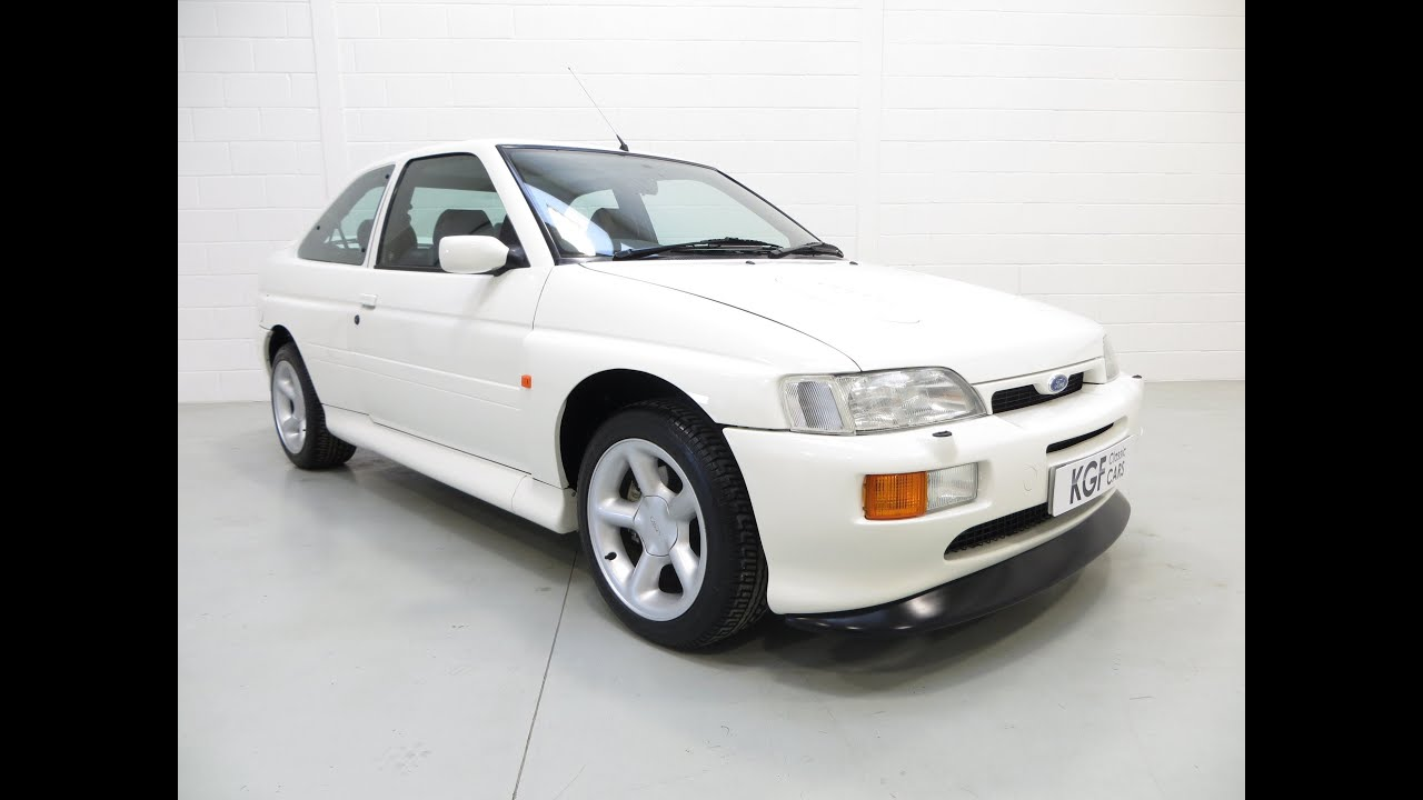 A Perfect Ford Escort RS Cosworth with Just 11,866 Miles and Two ...