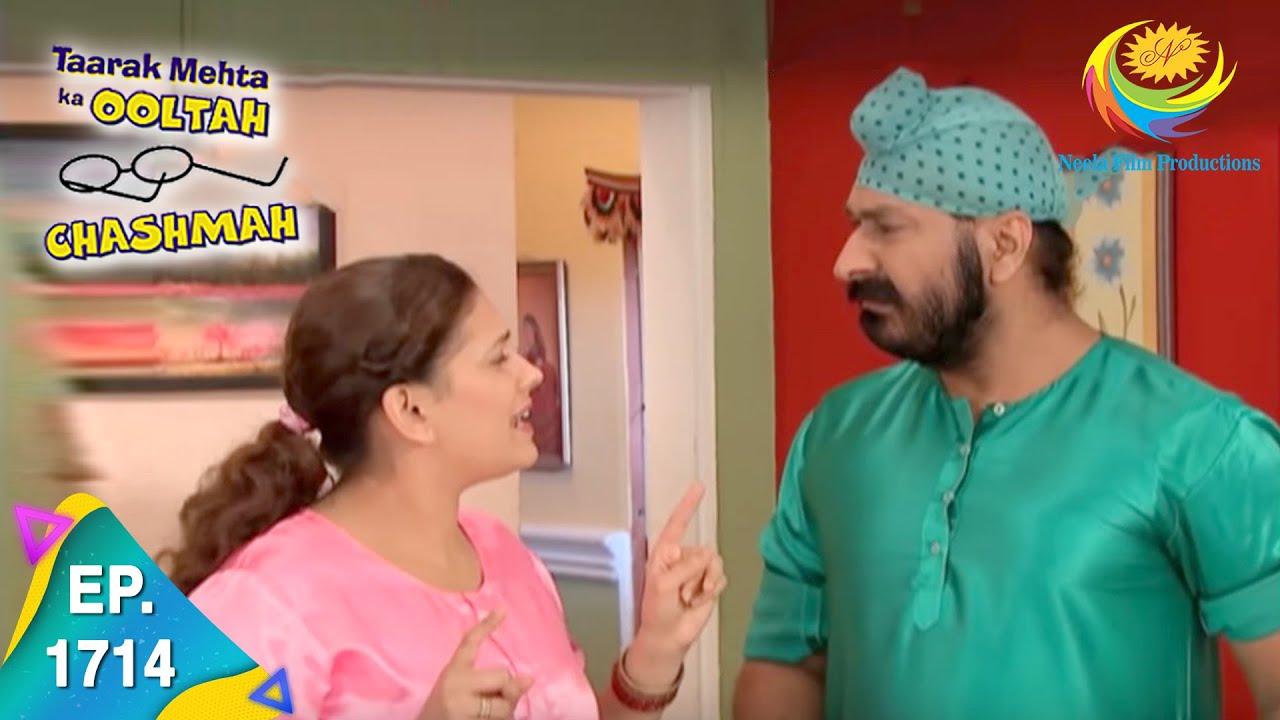 Download Taarak Mehta Ka Ooltah Chashmah - Episode 1714 - Full Episode