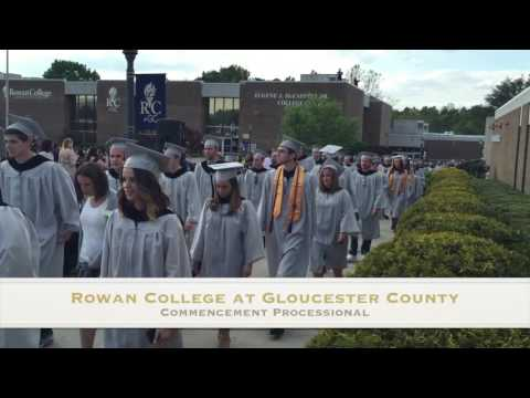 Rowan College at Gloucester County Commencement May 2016