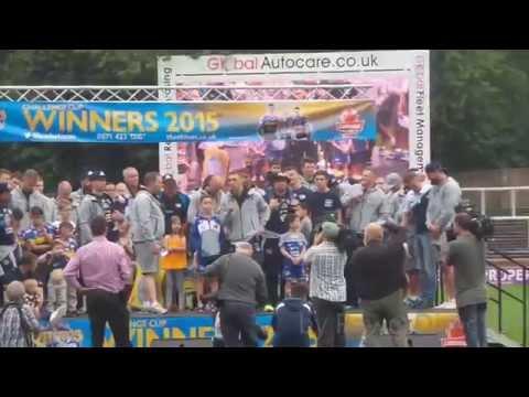 TTL3 Leeds Rhinos Challenge cup Homecoming 2015
