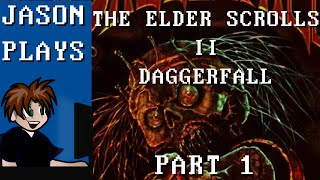 The Elder Scrolls II: Daggerfall [Part 1] - Character Creation & Privateer's Hold