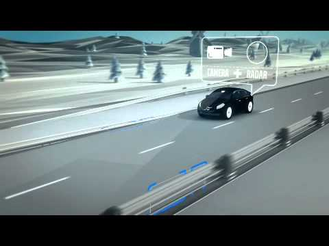 Volvo's Road Edge and Barrier Detection With Steer Assist system