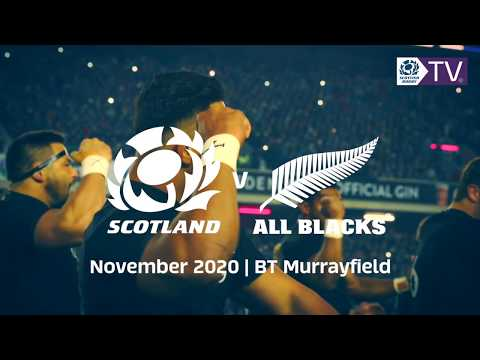 Scotland's 2020 Autumn Tests at BT Murrayfield