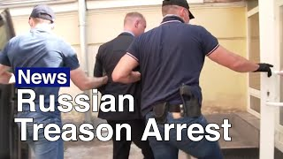On july 7, fsb agents arrested russian space chief advisor and former journalist ivan safronov suspicion of state treason. while the kremlin denies allega...