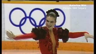 1988 OG FP - Katarina Witt (GDR)