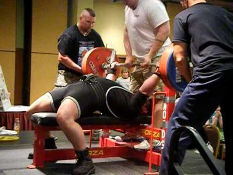 Gary Gulseth WABDL World Cup Wisconson Dells USPLABS Sponsored Athlete 601 Pounds