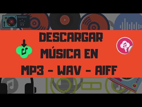 DESCARGAR MUSICA Eléctronica de internet a máxima calidad WAV y AIFF