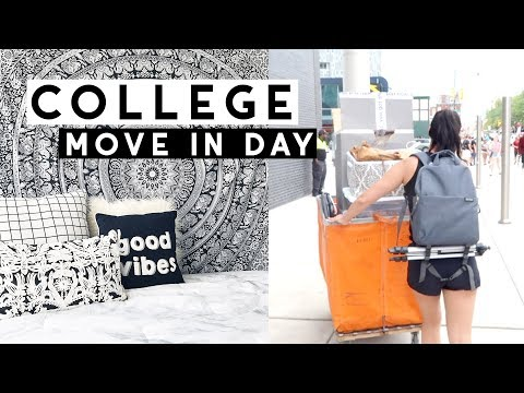 COLLEGE MOVE-IN VLOG 2018 | Temple University