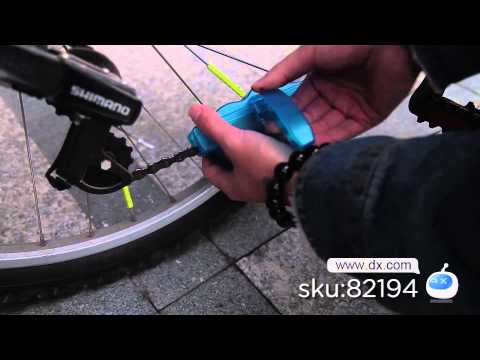Bicycle Chain Cleaning Machine -- DX.COM