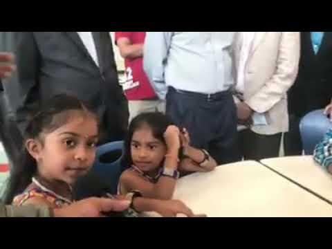 தமிழ் எழுத்துகள் பற்றி  அமெரிக்க குழந்தைகளின் படவிளக்கம்