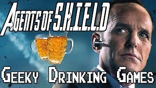 Geeky Drinking Games - Agents of SHIELD
