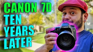 Canon 7D in 2021: Shooting on …