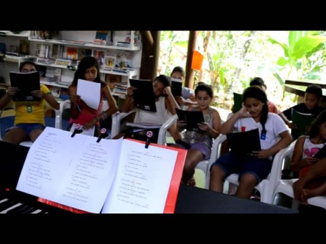Parceria Centro de Educação Integral Cairuçu e Escola Municipal Theophilo Rameck - Paraty - RJ
