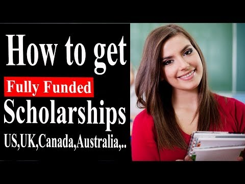 STUDY ABROAD SCHOLARSHIPS 2019 : How to get a Fully funded S