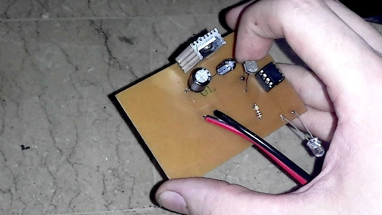 Simple Led Automatic Day Night Lamp Circuit Electronic Circuit