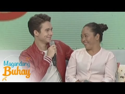 Magandang Buhay: Jameson's 'anakshie' Promise To His Mother
