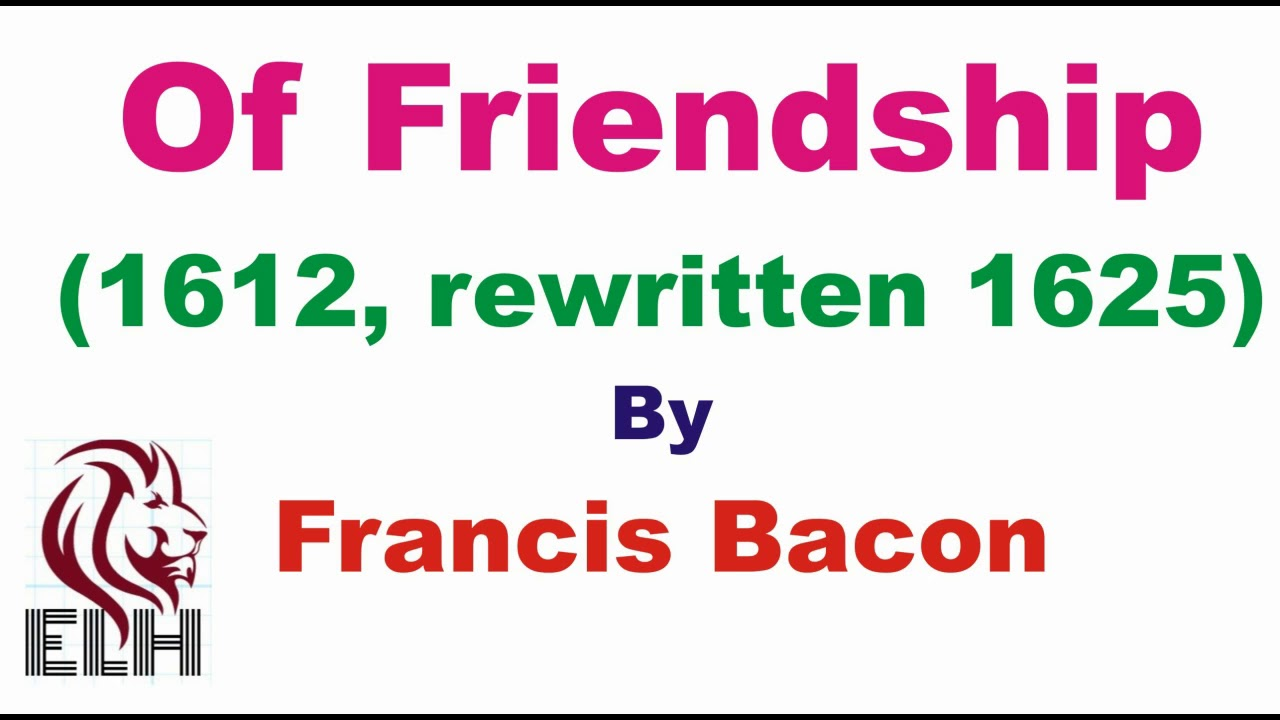 of ambition by sir francis bacon summary
