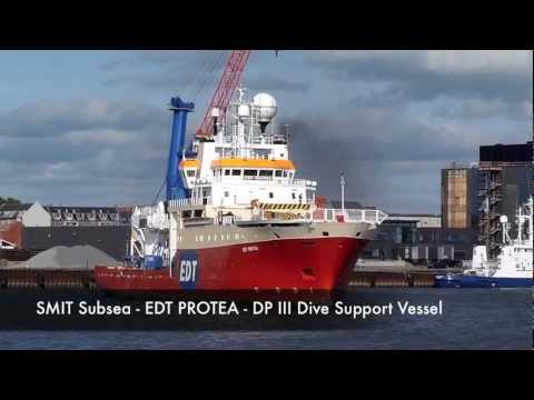 Boskalis Offshore (SMIT Subsea) Diving Campaign with DP3 DSV EDT Protea