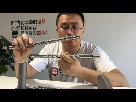 Screw N Barrel From RobotDigg For Pellet Extruder