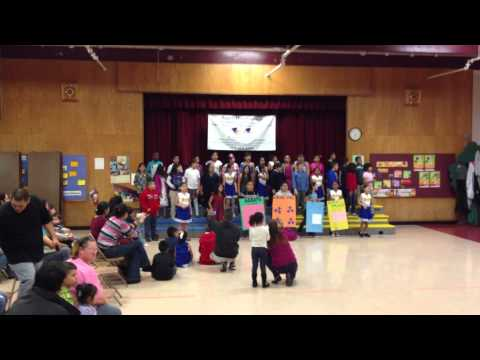 The Multiplication Song, sung by Walnut Creek Elementary Third Graders November 2012