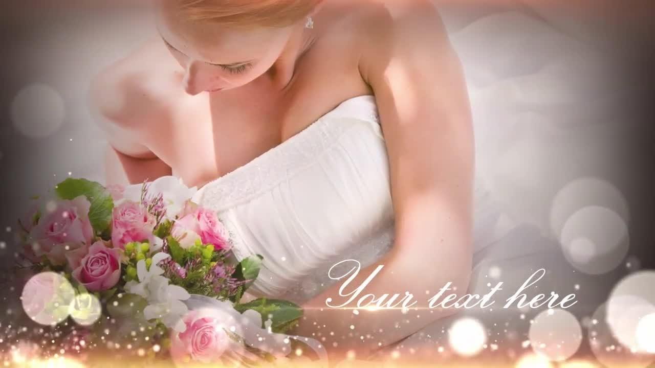 Beautiful Wedding Video Premiere Pro Templates
