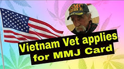 PTSD and Suicide - Vietnam Veteran applies for Medical Marijuana Card - A MUST WATCH!