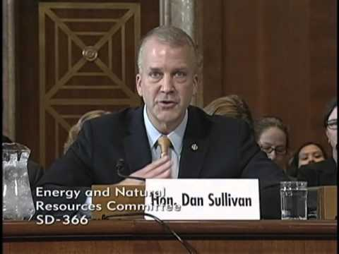 Sen. Dan Sullivan (R-AK) Testifies Before the Senate Energy and Natural Resources Committee