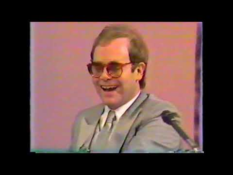 Elton John - The Fox Telepress Conference 1981