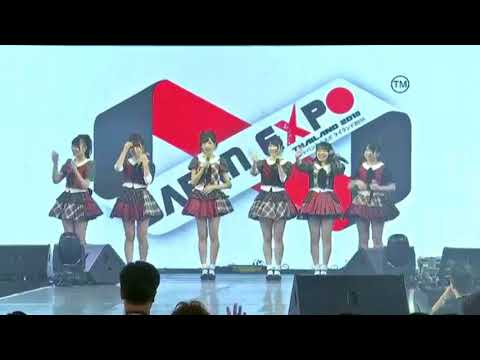 AKB48 MIni live Event JAPAN expo THAILAND2018