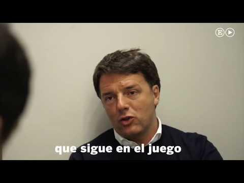 El Pais intervista Matteo Renzi