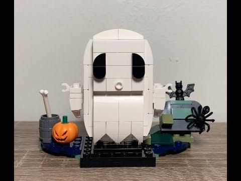 LEGO 40351 Ghost Brickheadz Review!