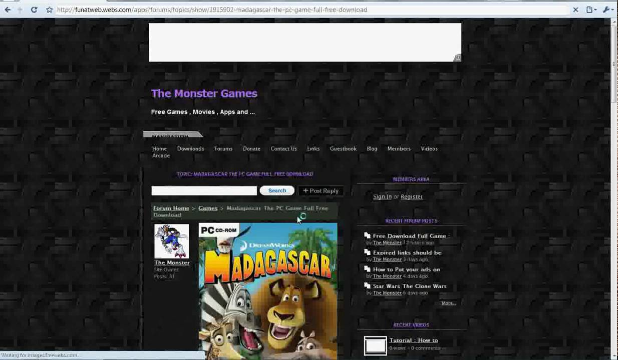How to Download Madagascar The PC Game Full For Free YouTube