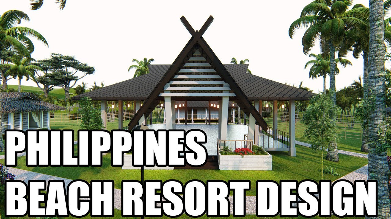Philippines Beach Resort Design Morion De Maniwaya Island Architectural Walkthrough Lumion Revit