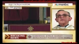 Pope Francis I: Argentina s Cardinal Jorge Mario Bergoglio is Pope