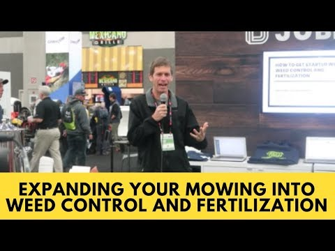 How to Add Weed Control and Fertilization to a Mowing Business  GIE Expo 2018