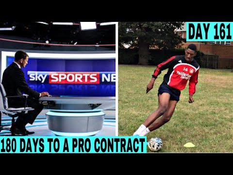 SKY SPORTS COMMENTATOR WANTS TO HELP ME | DAY 161