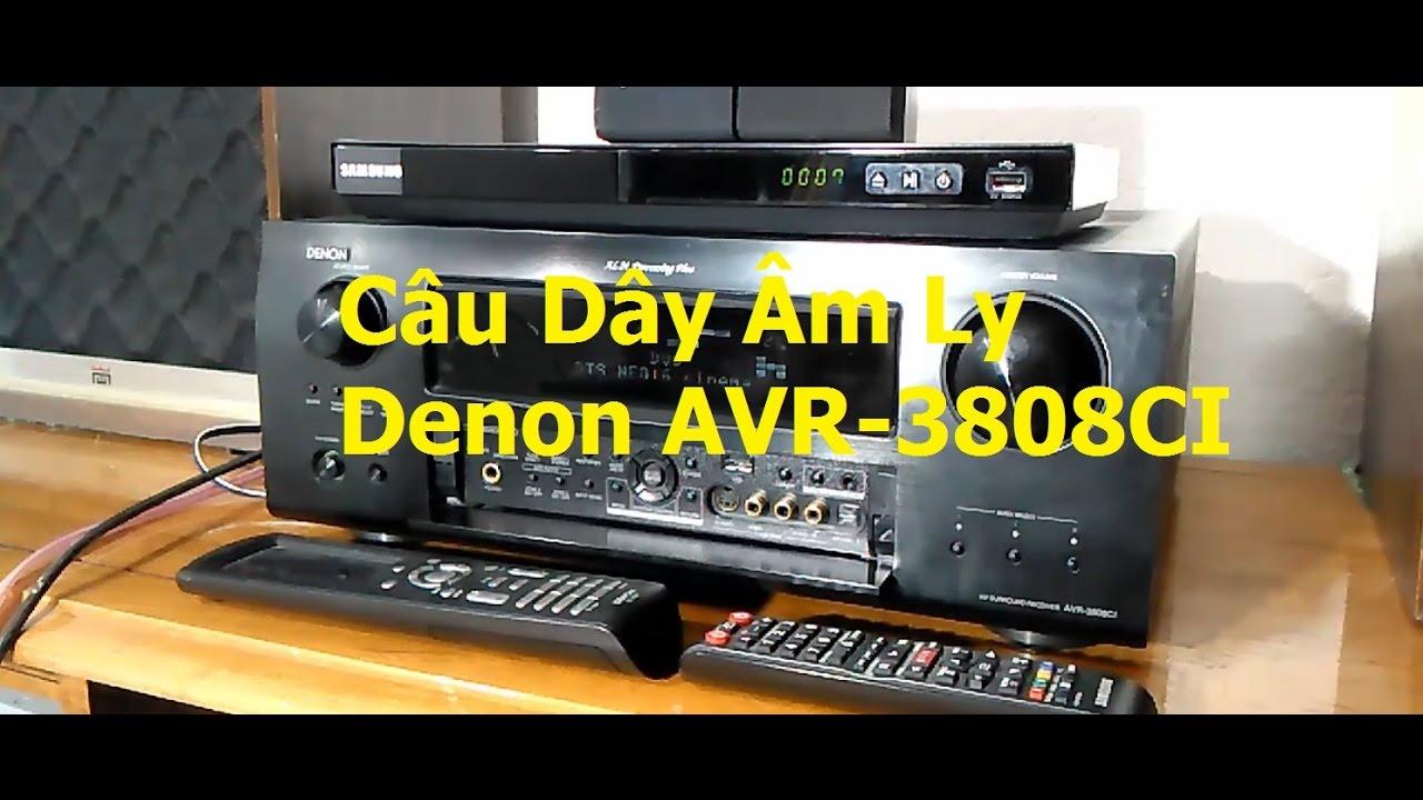 Cách Câu Dây Âm Ly  DENON  5.1 / 7.1 / 9.1 Để Xem Phim Surround Sound… Video # 49