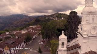 Viajar al Eje Cafetero en Colombia, Marsella y Salamina desde el aire con Drone