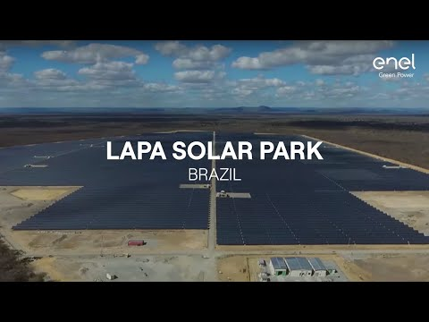 Enel Green Power in the world: Lapa Solar Park, Brazil