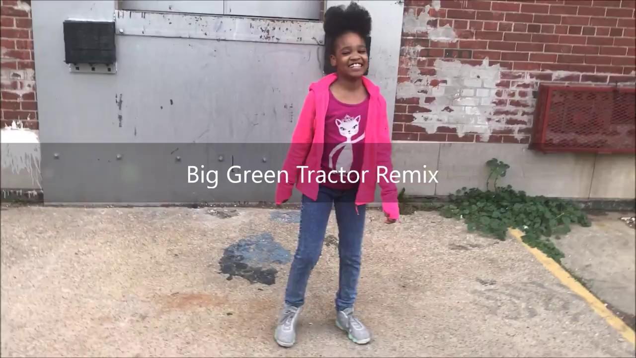 Big Green Tractor Remix - YouTube