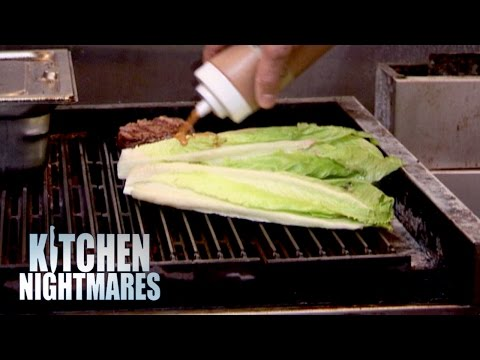 Chef Serves Gordon Grilled Lettuce – Kitchen Nightmares