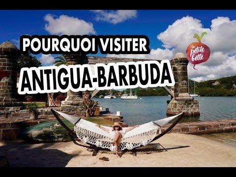 🌴 POURQUOI VISITER ANTIGUA-BARBUDA 🌞Au moins 365 bonnes raisons ✈🙏 Vlog Voyage