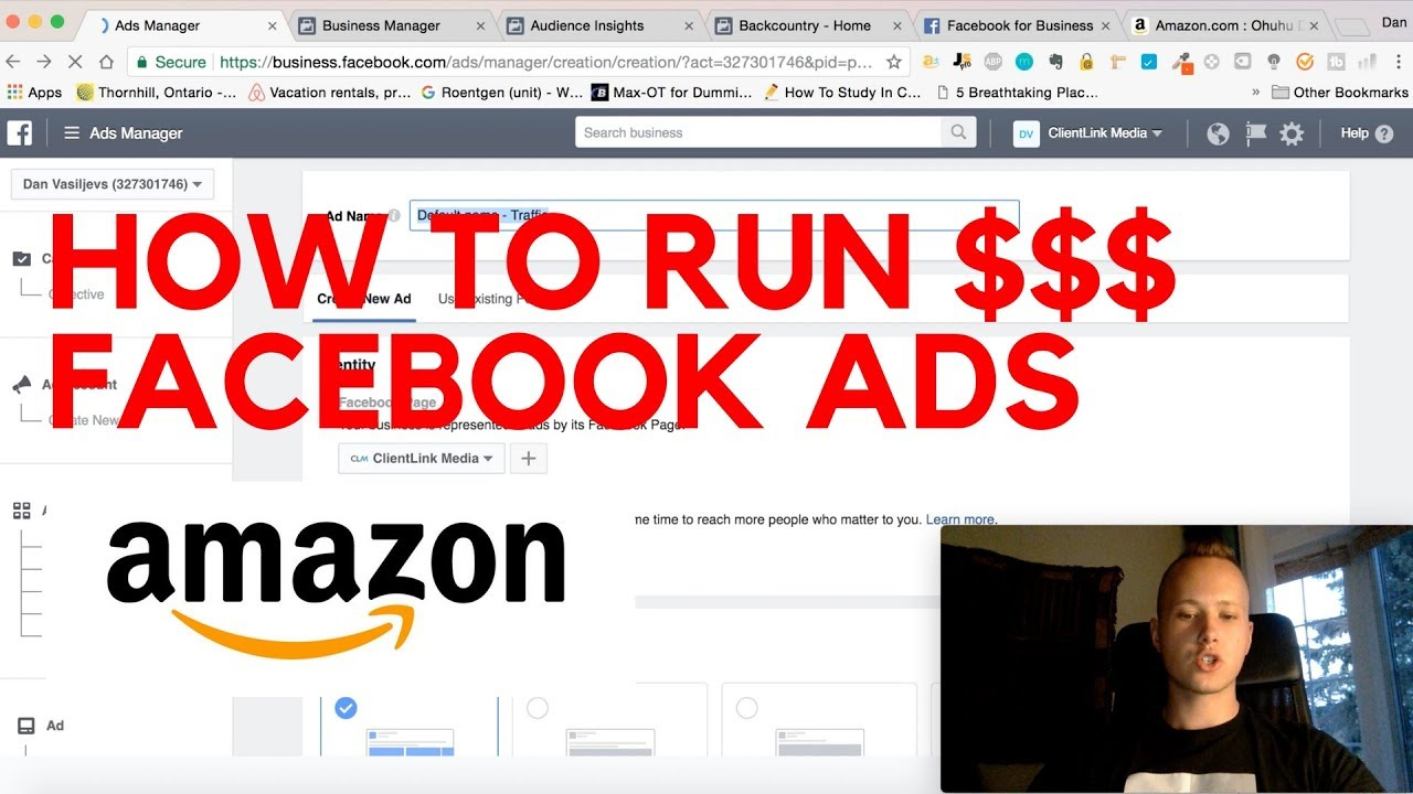 How To Create AMAZINGLY PROFITABLE Facebook Ads For Your Amazon FBA Product