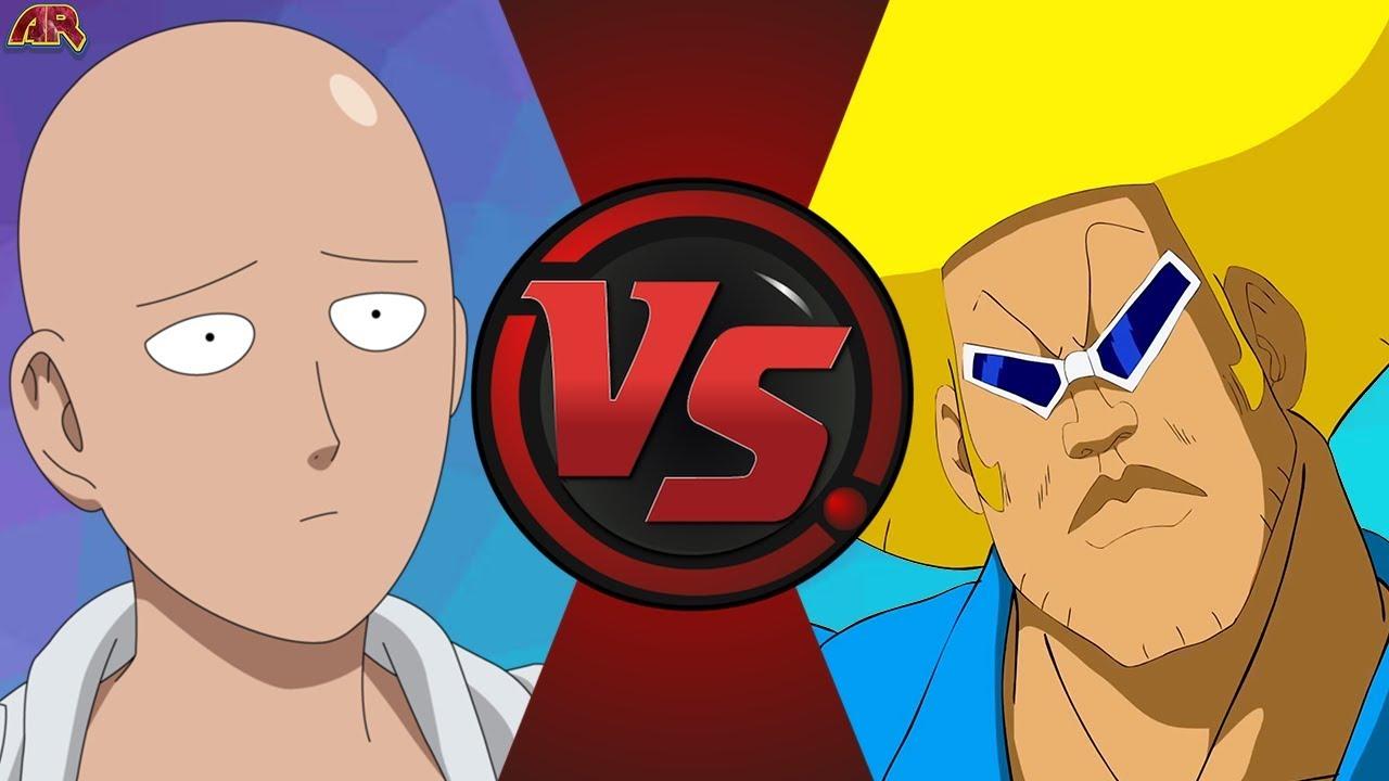 Saitama Vs Bobobo Bo Bo Bobo One Punch Man Vs Bobobo Cartoon